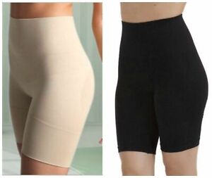 Seamfree Bum Tum Thigh Shaper Slimming Shorts Nude Black 12-20