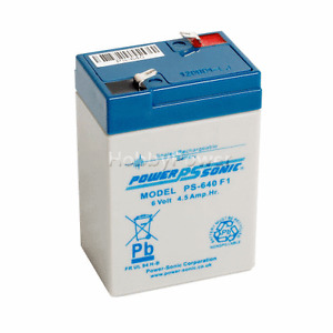 PS640 6V 4.5AH Rechargeable VRLA AGM Battery - NO SPILL - Aroma 3-FM-4 6V 4AH