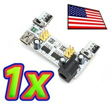[1x] Enhanced Dual Output Breadboard Power Supply Module - 3.3V and 5.0V