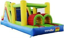 Bounceland Mega Adventure 21ft Bouncy Castle Inflatable Slide with Fan