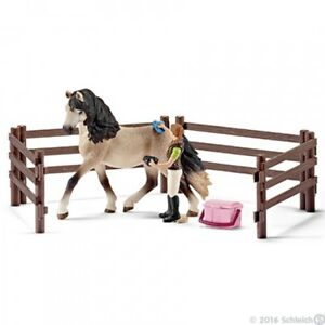 Schleich 42270 Horse care set, Andalusian Horse Club Playset