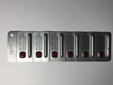 MARY KAY TRUE DIMENSIONS LIPSTICK - SIZZLING RED -LOT OF 6 SAMPLES