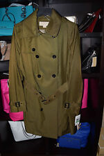 Michael Kors Polyester Solid Trench for Women