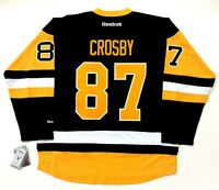 SIDNEY CROSBY PITTSBURGH PENGUINS REEBOK PREMIER THIRD JERSEY 2017 NEW W/ TAGS