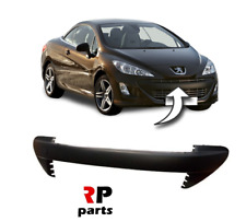 FOR PEUGEOT 308 2007 - 2011 SPORT FRONT BUMPER BLACK MOLDING TRIM WITH TOW HOOK