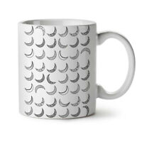 Moon Planet Space NEW White Tea Coffee Mug 11 oz | Wellcoda