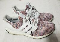Adidas Mens Shoes Size 9.5 Continental Ultra Boost Multicolored Rainbow