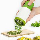 Kitchen Stainless Steel Herb Mill Chopper Cutter Mince Blades Safely Manual Tool
