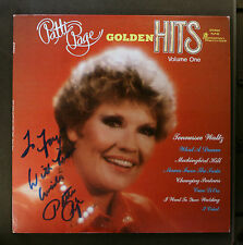 (LP) PATTI PAGE - Golden Hits Volume 1 / VG+/VG+ / AUTOGRAPHED / Srereo PLP-42