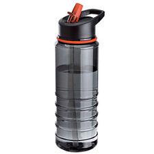 800ml Outdoor Cycling Hiking Flip Straw Water Drink Bottle BPA Free Plasti NAE