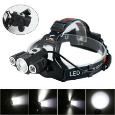 LED Headlight Headlamp Cree XML T6 Waterproof 6000 Lm Rechargeable Head lamp