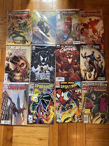 MIXED SPIDER-MAN, BATMAN, IRONMAN, HULK, WALKING DEAD, VENOM 81 ISSUE COMIC LOT