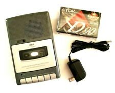 Rca Rp3503B Portable Cassette Recorder Built in Microphone Power Cord Blank Tape