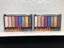 Lot Of 2 Covergirl Trunaked Jewels Eyeshadow Palettes
