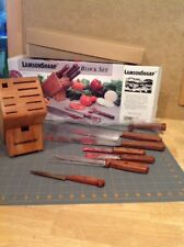 LamsonSharp 6-Piece Forged Knife Set with Block Plus Free Fruit Knife -USA