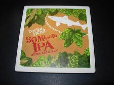DOGFISH HEAD BREWERY 90 MINUTE IPA New Logo Stone Coaster craft beer