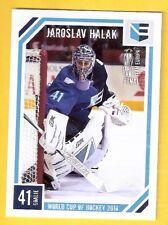 2016 Russian Ice World Cup of Hockey Jaroslav Halak /199