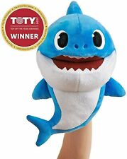 WowWee Pinkfong Baby Shark Official Song Puppet with Tempo Control Daddy Shark