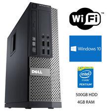 PCs de sobremesa y todo en uno Dell Intel Pentium 4GB