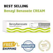 20% Benzyl Benzil Benzoate cream, 25 gr, Antiparasitic, Scabies Lice Treatmen...
