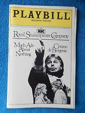 Much Ado About Nothing/Cyrano... - Gershwin Playbill w/Ticket - Dec. 15th, 1984