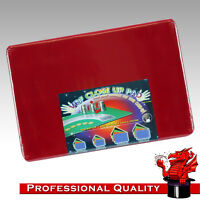 VDF Close Up Pad / Mat / Surface - Plain Red - Magic - Professional Size