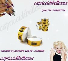 Cartine Rettangolari - Sagome UV Adesivo 100 pz cartine - MELISSA - NAIL ART