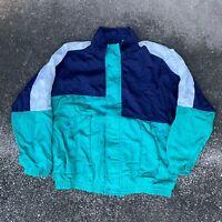 Vintage 90s Christian Dior Monsieurr Windbreaker Jacket Size Large