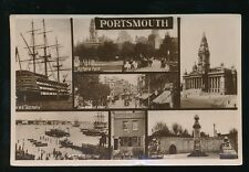 Hampshire PORTSMOUTH m/view 1926 RP PPC