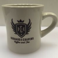Hubbard & Cravens Coffee and Tea Mug Cup Ceramic 11 Ounce Indianapolis IN Indy