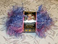 NEW Lion Brand Fun Fur Fiji Lilac Purple and Pink Polyester 50 g Yarn 214 6322