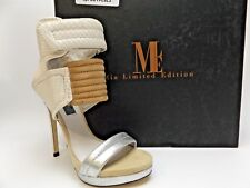 Women's MIA ROCCO WHITE Snake Limited Edition SZ 6.0 M NEW DISPLAY D4632