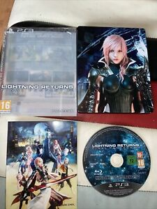 Final Fantasy Lightning Returns PS3 Steelbook Game