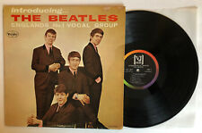 Introducing The Beatles - 1964 Vee-Jay Mono Rainbow Brackets / No Comma