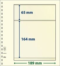 Lindner T-Blanko-hojas con dos Bolsas de 10er Paquete Arte Núm. 802 203