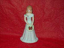 Enesco Growing Up Birthday Girls # 14 Figurine