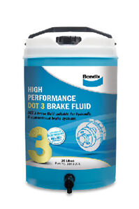 Bendix High Performance Brake Fluid DOT 3 20L BBF3-20L fits Audi 200 2.1 5 T