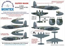 Montex 1/24 DH MOSQUITO Paint Mask for Airfix