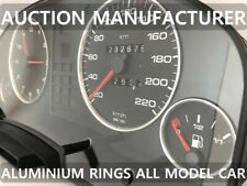 Audi a8 s8 d2  type RS 1994-2002 Aluminium Polished Chrome Dial Rings Set Of x4