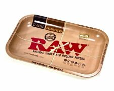 New Raw Classic 1970 Metal Collectors Rolling Tray Medium Size 7 X 11 Gift