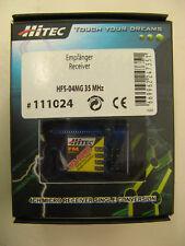 HITEC: micro receptor FM 3/4k hfs-04mg 35 MHz #111024