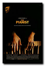 The Pianist Movie Poster 24x36 Inch Wall Art Portrait Print - Adrian Brody
