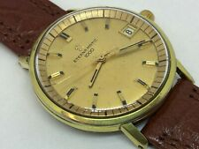 Vintage Eterna-Matic 1000 Automatic Date Gold Plated - Cal 1489K - 34.5mm