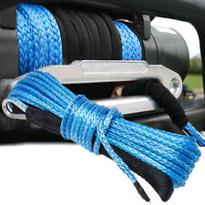 14x50 10000lbs Synthetic Winch Rope Line Recovery Cable 4wd Atv Utv With Sheath