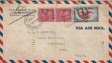 1939 USA cover from Denver Colorado to Workingham Berkshire England