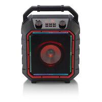Blackweb BWD19AAS10 Black Portable Bluetooth Party Speaker, Medium