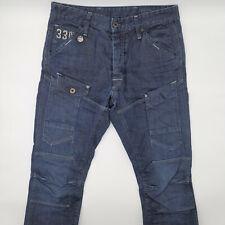 G-Star General 5620 Slim 50567 W32 L31 blau Herren Denim Designer Jeans Hose