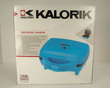 Kalorik Brownie Maker Bright Blue New in Box