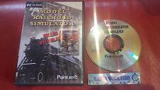 MODEL DELLA FERROVIA SIMULATORE+STEAMLAND PC CD-ROM PAL