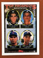 1993 Topps Chipper Jones Rookie Card #529 Top Prospects MINT - Braves HOF